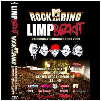 LIMP BIZKIT - ROCK AM RING FESTIVAL GERMANY JUNE 7TH 2009 DVD