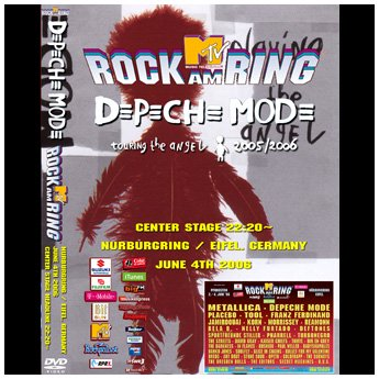 <img class='new_mark_img1' src='https://img.shop-pro.jp/img/new/icons24.gif' style='border:none;display:inline;margin:0px;padding:0px;width:auto;' />DEPECHE MODE - ROCK AM RING FESTIVAL JUNE 4TH 2006 DVD