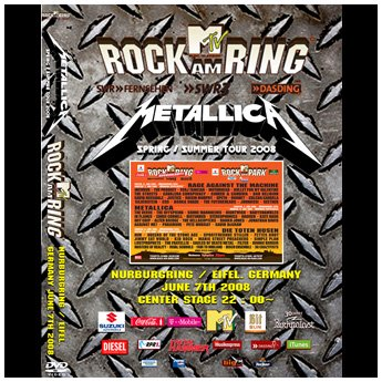 <img class='new_mark_img1' src='https://img.shop-pro.jp/img/new/icons24.gif' style='border:none;display:inline;margin:0px;padding:0px;width:auto;' />METALLICA - ROCK AM RING FESTIVAL JUNE 7TH 2008 DVD