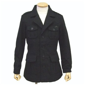 ATTICUS CLOTHING - FIELD WOOL COAT JACKET
