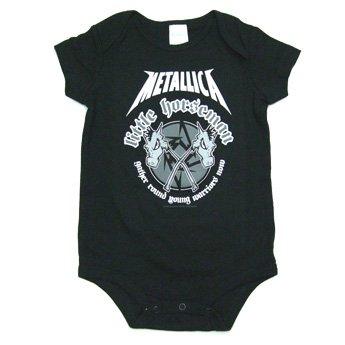 METALLICA - LITTLE HORSEMAN BABY ONESIE