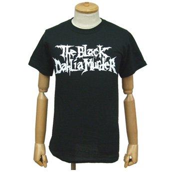 BLACK DAHLIA MURDER - CLASSIC LOGO WHITE ON BLACK