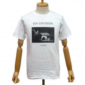 JOY DIVISION - CLOSER WHITE