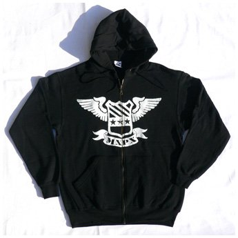 <img class='new_mark_img1' src='//img.shop-pro.jp/img/new/icons24.gif' style='border:none;display:inline;margin:0px;padding:0px;width:auto;' />MXPX - SHIELD ZIP-UP HOODED SWEATSHIRT