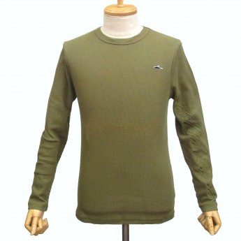 <img class='new_mark_img1' src='//img.shop-pro.jp/img/new/icons24.gif' style='border:none;display:inline;margin:0px;padding:0px;width:auto;' />ATTICUS CLOTHING - BASIC OLIVE THERMAL LONG SLEEVE