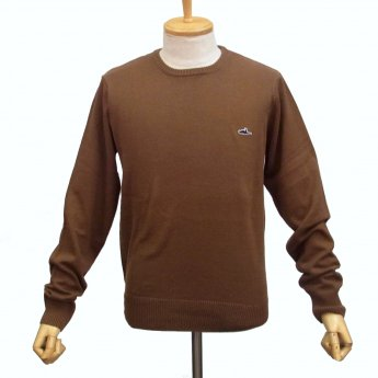 <img class='new_mark_img1' src='//img.shop-pro.jp/img/new/icons24.gif' style='border:none;display:inline;margin:0px;padding:0px;width:auto;' />ATTICUS CLOTHING - GLEASON BROWN SWEATER
