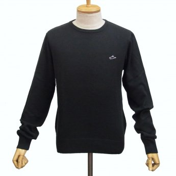 <img class='new_mark_img1' src='https://img.shop-pro.jp/img/new/icons24.gif' style='border:none;display:inline;margin:0px;padding:0px;width:auto;' />ATTICUS CLOTHING - GLEASON BLACK SWEATER
