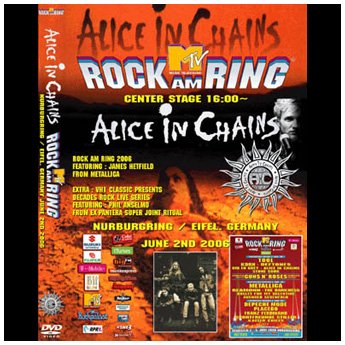 <img class='new_mark_img1' src='//img.shop-pro.jp/img/new/icons24.gif' style='border:none;display:inline;margin:0px;padding:0px;width:auto;' />ALICE IN CHAINS - ROCK AM RING FESTIVAL GERMANY JUNE 2ND 2006 DVD