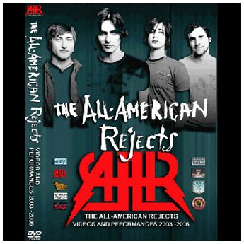 <img class='new_mark_img1' src='https://img.shop-pro.jp/img/new/icons24.gif' style='border:none;display:inline;margin:0px;padding:0px;width:auto;' />ALL AMERICAN REJECTS - PERFORMANCES 2003 - 2006 DVD