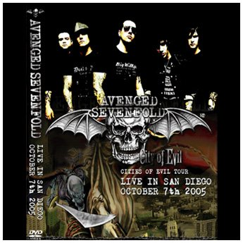 AVENGED SEVENFOLD - LIVE IN SAN DIEGO OCTOBER 7TH 2005 DVD