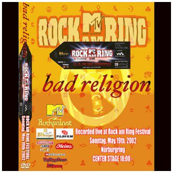 BAD RELIGION - ROCK AM RING FESTIVAL GERMANY 2002 DVD