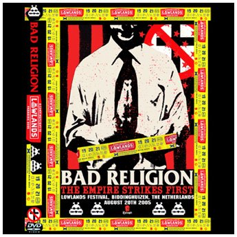 BAD RELIGION - LOWLANDS FESTIVAL THE NETHERLANDS AUGUST 22ND 2005 DVD