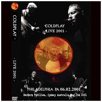 <img class='new_mark_img1' src='//img.shop-pro.jp/img/new/icons24.gif' style='border:none;display:inline;margin:0px;padding:0px;width:auto;' />COLDPLAY - LIVE 2001 DVD
