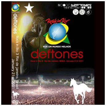 <img class='new_mark_img1' src='//img.shop-pro.jp/img/new/icons24.gif' style='border:none;display:inline;margin:0px;padding:0px;width:auto;' />DEFTONES - ROCK IN RIO 3 BRAZIL JANUARY 21ST 2001 DVD