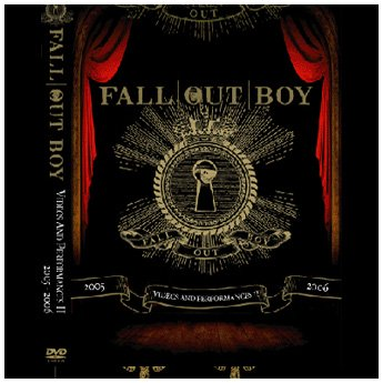 <img class='new_mark_img1' src='//img.shop-pro.jp/img/new/icons24.gif' style='border:none;display:inline;margin:0px;padding:0px;width:auto;' />FALL OUT BOY - VIDEOS AND PERFORMANCES II 2005 - 2006 DVD