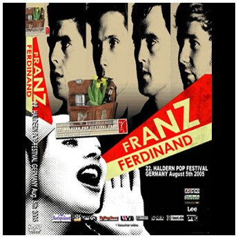 <img class='new_mark_img1' src='https://img.shop-pro.jp/img/new/icons24.gif' style='border:none;display:inline;margin:0px;padding:0px;width:auto;' />FRANZ FERDINAND - HALDERN POP FESTIVAL GERMANY DVD