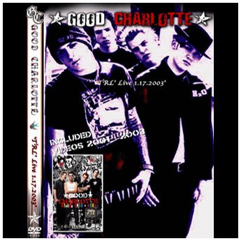 <img class='new_mark_img1' src='//img.shop-pro.jp/img/new/icons24.gif' style='border:none;display:inline;margin:0px;padding:0px;width:auto;' />GOOD CHARLOTTE - 'TRL' 1.17.2003 DVD