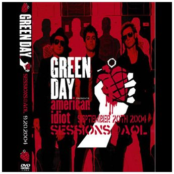 <img class='new_mark_img1' src='//img.shop-pro.jp/img/new/icons24.gif' style='border:none;display:inline;margin:0px;padding:0px;width:auto;' />GREEN DAY - SESSIONS @ AOL SEPTEMBER 20TH 2004 DVD