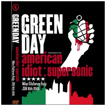<img class='new_mark_img1' src='//img.shop-pro.jp/img/new/icons24.gif' style='border:none;display:inline;margin:0px;padding:0px;width:auto;' />GREEN DAY - SUPERSONIC MILAN FLAFORUM ITALY JANUARY 16TH. 2005 DVD