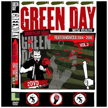 <img class='new_mark_img1' src='https://img.shop-pro.jp/img/new/icons24.gif' style='border:none;display:inline;margin:0px;padding:0px;width:auto;' />GREEN DAY - A.I. PERFORMANCES 2004 - 2006 VOL. 2 2DVD