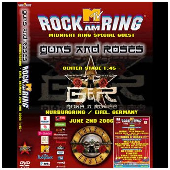 <img class='new_mark_img1' src='//img.shop-pro.jp/img/new/icons24.gif' style='border:none;display:inline;margin:0px;padding:0px;width:auto;' />GUNS N' ROSES - ROCK AM RING FESTIVAL GERMANY JUNE 2ND 2006 DVD