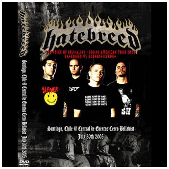<img class='new_mark_img1' src='https://img.shop-pro.jp/img/new/icons24.gif' style='border:none;display:inline;margin:0px;padding:0px;width:auto;' />HATEBREED - SANTIAGO CHILE JULY 30TH 2005 DVD