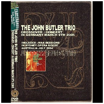 <img class='new_mark_img1' src='https://img.shop-pro.jp/img/new/icons24.gif' style='border:none;display:inline;margin:0px;padding:0px;width:auto;' />THE JOHN BUTLER TRIO - CROSSROAD LIVE IN GERMANY MERCH 9TH 2005 DVD