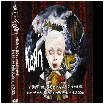 <img class='new_mark_img1' src='https://img.shop-pro.jp/img/new/icons24.gif' style='border:none;display:inline;margin:0px;padding:0px;width:auto;' />KORN - YOUR BLOODY VALENTINE BERLIN GERMANY 2.14. 2006 DVD