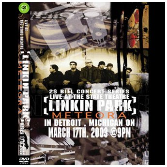<img class='new_mark_img1' src='//img.shop-pro.jp/img/new/icons24.gif' style='border:none;display:inline;margin:0px;padding:0px;width:auto;' />LINKIN PARK - IN DETROIT, MICHIGAN 3.17.2003 @9PM DVD