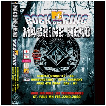<img class='new_mark_img1' src='//img.shop-pro.jp/img/new/icons24.gif' style='border:none;display:inline;margin:0px;padding:0px;width:auto;' />MACHINE HEAD - ROCK AM RING FESTIVAL GERMANY JUNE 4TH 2004 DVD