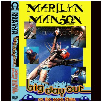 <img class='new_mark_img1' src='//img.shop-pro.jp/img/new/icons24.gif' style='border:none;display:inline;margin:0px;padding:0px;width:auto;' />MARILYN MANSON - BIG DAY OUT SYDNEY AUSTRALIA 1.15.1999 DVD