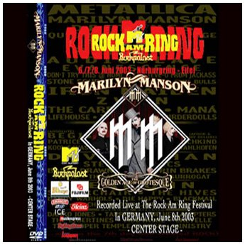 <img class='new_mark_img1' src='//img.shop-pro.jp/img/new/icons24.gif' style='border:none;display:inline;margin:0px;padding:0px;width:auto;' />MARILYN MANSON - ROCK AM RING FESTIVAL GERMANY 6. 8TH 2003 DVD