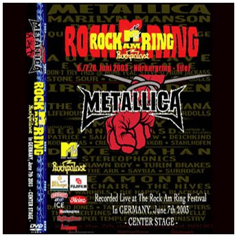 <img class='new_mark_img1' src='//img.shop-pro.jp/img/new/icons24.gif' style='border:none;display:inline;margin:0px;padding:0px;width:auto;' />METALLICA - ROCK AM RING FESTIVAL GERMANY JUNE 8TH 2003 DVD