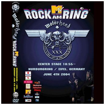 MOTORHEAD - ROCK AM RING FESTIVAL GERMANY JUNE 4TH 2004 DVD