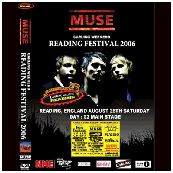 <img class='new_mark_img1' src='https://img.shop-pro.jp/img/new/icons24.gif' style='border:none;display:inline;margin:0px;padding:0px;width:auto;' />MUSE - READING FESTIVAL U.K. AUG 26TH 2006 DVD