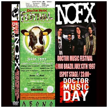 <img class='new_mark_img1' src='https://img.shop-pro.jp/img/new/icons24.gif' style='border:none;display:inline;margin:0px;padding:0px;width:auto;' />NOFX - DOCTOR MUSIC FESTIVAL RIO BRAZIL JULY 13TH 1997 DVD