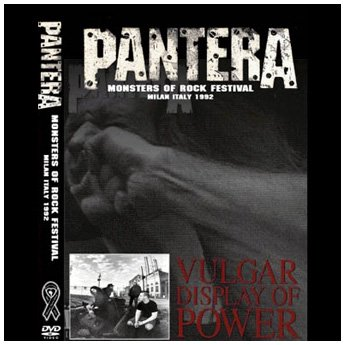 PANTERA - MONSTERS OF ROCK MILAN ITALY 1992 DVD