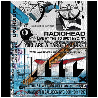<img class='new_mark_img1' src='//img.shop-pro.jp/img/new/icons24.gif' style='border:none;display:inline;margin:0px;padding:0px;width:auto;' />RADIOHEAD - HAMMERSTEIN BALLROOM NYC, DEC.19TH 1997 DVD
