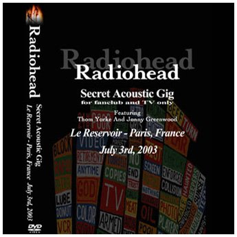<img class='new_mark_img1' src='https://img.shop-pro.jp/img/new/icons24.gif' style='border:none;display:inline;margin:0px;padding:0px;width:auto;' />RADIOHEAD - LE RESERVOIR PARIS FRANCE JULY 3RD 2003 DVD