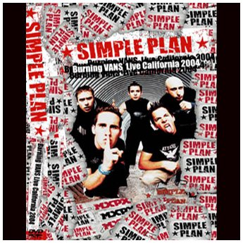 <img class='new_mark_img1' src='https://img.shop-pro.jp/img/new/icons24.gif' style='border:none;display:inline;margin:0px;padding:0px;width:auto;' />SIMPLE PLAN - BURNING VAN LIVE CALIFORNIA 2004 DVD