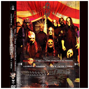 <img class='new_mark_img1' src='//img.shop-pro.jp/img/new/icons24.gif' style='border:none;display:inline;margin:0px;padding:0px;width:auto;' />SLIPKNOT - ASTORIA LONDON MAY 24 TH 2004 DVD