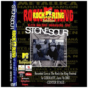 <img class='new_mark_img1' src='//img.shop-pro.jp/img/new/icons24.gif' style='border:none;display:inline;margin:0px;padding:0px;width:auto;' />STONE SOUR - ROCK AM RING FESTIVAL GERMANY JUNE 7TH 2003 DVD