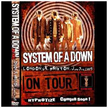 <img class='new_mark_img1' src='//img.shop-pro.jp/img/new/icons24.gif' style='border:none;display:inline;margin:0px;padding:0px;width:auto;' />SYSTEM OF A DOWN - BRIXTON ACADEMY LONDON, UK. JUNE 3TH 2005 DVD