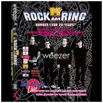 <img class='new_mark_img1' src='//img.shop-pro.jp/img/new/icons24.gif' style='border:none;display:inline;margin:0px;padding:0px;width:auto;' />WEEZER - ROCK AM RING FESTIVAL GERMANY JUNE 3RD 2005 DVD