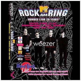WEEZER - ROCK AM RING FESTIVAL GERMANY JUNE 3RD 2005 DVD