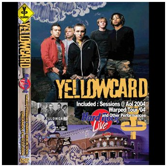 <img class='new_mark_img1' src='//img.shop-pro.jp/img/new/icons24.gif' style='border:none;display:inline;margin:0px;padding:0px;width:auto;' />YELLOWCARD - HARD ROCK LIVE ORLANDO, FL. 6.22.2004 DVD