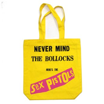 SEX PISTOLS - NEVER MIND TOTE BAG