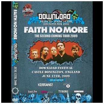 <img class='new_mark_img1' src='//img.shop-pro.jp/img/new/icons24.gif' style='border:none;display:inline;margin:0px;padding:0px;width:auto;' />FAITH NO MORE / DOWNLOAD FESTIVAL JUNE 12TH 2009 DVD
