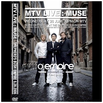 <img class='new_mark_img1' src='//img.shop-pro.jp/img/new/icons24.gif' style='border:none;display:inline;margin:0px;padding:0px;width:auto;' />MUSE - SHEPHERD'S BUSH EMPIRE LONDON JUNE 28TH 2006 DVD