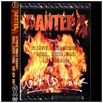 PANTERA / THE REAL STEEL TOUR 2001 :  SEOUL SOUTH - KOREA MAY 6TH DVD